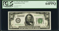 Fr. 2101-D $50 1928A Dark Green Seal Federal Reserve Note. PCGS Very Choice New 64PPQ