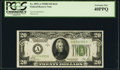 Fr. 2052-A $20 1928B Dark Green Seal Federal Reserve Note. PCGS Extremely Fine 40PPQ