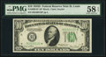 Fr. 2009-H* $10 1934D Federal Reserve Star Note. PMG Choice About Unc 58 EPQ
