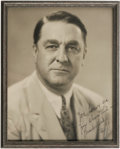 Autographs:Photos, 1930's Branch Rickey Signed Photograph. While Rickey's days inuniform as both a player and manager were undistinguished at...