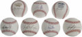 Autographs:Baseballs, Modern St.Louis Cardinals Stars Single Signed Baseballs Lot of 19.Nineteen single signed orbs from modern stars of the St....