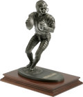 Football Collectibles:Others, Joe Montana Signed Artist Proof Gartlan Statue. Sturdy and weighty in its construction, this pewter statue issued by the st...