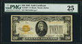 Small Size:Gold Certificates, Fr. 2402* $20 1928 Gold Certificate Star. PMG Very Fine 25.. ...