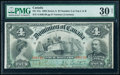 World Currency, Canada Dominion of Canada $4 2.1.1902 Pick 26 DC-17a PMG Very Fine 30 Net.. ...