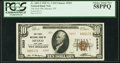 National Bank Notes:New York, Mexico, NY - $10 1929 Ty. 2 The First National Bank Ch. # 5293 PCGS Choice About New 58PPQ.. ...