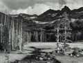 Photographs, Ansel Adams (American, 1902-1984). Peaks and Meadow, Lyell Fork of the Merced River, Yosemite National Park, California,...
