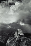 Photographs, Ansel Adams (American, 1902-1984). Half Dome from Glacier Point, Thunderstorm, Yosemite National Park, California, 1947...