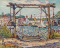Paintings, Reynolds Beal (American, 1867-1951). Ferry to Rondout, New York, 1914. Oil on canvas. 29 x 36 inches (73.7 x 91.4 cm). S...
