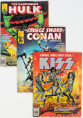 Magazines:Miscellaneous, Assorted Magazines Box Lot (Various Publishers, 1970s) Condition: Average FN/VF....