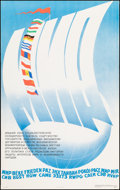 """Movie Posters:Foreign, Soviet Propaganda (1976). Rolled, Very Fine+. Full-Bleed Russian Poster (26"""" X 41.75"""") """"Peace,"""" E. Kudryashov Artwork. Forei..."""