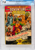 Golden Age (1938-1955):Classics Illustrated, Classics Illustrated Giants #nn (#1) Great Adventure Stories (Gilberton, 1949) CGC FN/VF 7.0 Cream to off-white pages....