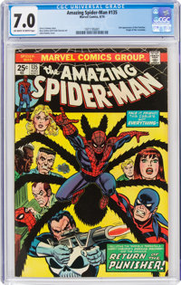The Amazing Spider-Man #135 (Marvel, 1974) CGC FN/VF 7.0 Off-white to white pages