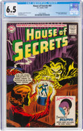 Silver Age (1956-1969):Horror, House of Secrets #61 (DC, 1963) CGC FN+ 6.5 Off-white pages....