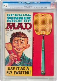 MAD #57 (EC, 1960) CGC VF- 7.5 Off-white to white pages
