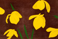 Prints & Multiples, Alex Katz (b. 1927). Yellow Flags, 2013. Woodcut in colors on Rives paper. 20-1/4 x 30 inches (51.4 x 76.2 cm) (sheet). ...