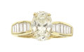 Estate Jewelry:Rings, Diamond, Gold Ring, Moboco The ring features ...