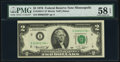 Low Serial Number 2338 Fr. 1935-I* $2 1976 Federal Reserve Star Note. PMG Choice About Unc 58 EPQ