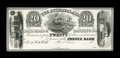 Obsoletes By State:Louisiana, New Orleans, LA- Atchafalaya Rail-Road & Banking Co. $20 G36 Proof. ...