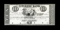 Obsoletes By State:Louisiana, New Orleans, LA- Citizens Bank of Louisiana $10 G18 Proof. ...