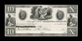 Obsoletes By State:Louisiana, New Orleans, LA- Bank of Orleans $10 G74 Proof. ...