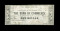 Obsoletes By State:Louisiana, New Orleans, LA- Bank of Commerce $1 May 5, 1862 G44a. ...