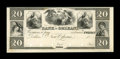 Obsoletes By State:Louisiana, New Orleans, LA- Bank of Orleans $20 18 __ G38 Proof. ...