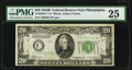 Small Size:Federal Reserve Notes, Fr. 2056-C* $20 1934B Federal Reserve Star Note. PMG Very Fine 25.. ...