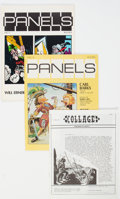 Memorabilia:Fanzines, Collage #1-20 and Panels #1 and 2 Fanzines Group (Various Publishers, 1970s).... (Total: 22 Comic Books)