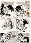 Original Comic Art:Panel Pages, Jose Gonzalez Vampirella #25 Story Page 8 Original Art (Warren, 1973)...