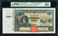 Mozambique Banco Nacional Ultramarino 5 Mil Reis 1.3.1909 Pick 42sp Specimen Proof PMG Choice Uncirculated 64