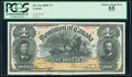 World Currency, Canada Dominion of Canada $1 31.3.1898 Pick 24 DC-13a PCGS Choice About New 55.. ...