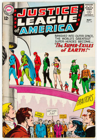 Justice League of America #19 (DC, 1963) Condition: VF-