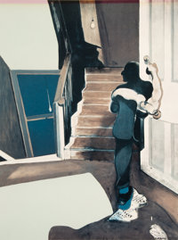 Francis Bacon (1909-1992) Untitled, from In Memory of George Dyer, 1976 Offset lithograph in colors on Arches pape