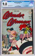 Golden Age (1938-1955):Superhero, Wonder Woman #24 (DC, 1947) CGC VF/NM 9.0 Off-white to white pages....