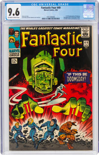 Fantastic Four #49 (Marvel, 1966) CGC NM+ 9.6 Off-white to white pages