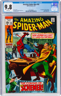 The Amazing Spider-Man #83 (Marvel, 1970) CGC NM/MT 9.8 White pages