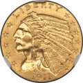 Indian Quarter Eagles, 1911-D $2 1/2 -- Cleaned -- NGC Details. Unc. The ...
