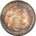 Early Half Dollars, 1807 50C Draped Bust, O-110a, T-3, R.2, AU50 PCGS....