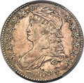 Bust Half Dollars, 1820 50C No Serifs on E's, O-107, R.5, AU50 PCGS....