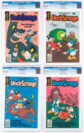 Bronze Age (1970-1979):Cartoon Character, Uncle Scrooge CGC-Graded Group of 7 (Gold Key/Whitman, 1979-80) CGC NM 9.4.... (Total: 7 Comic Books)