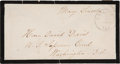 Autographs:U.S. Presidents, Mary Todd Lincoln Free Frank Signed...