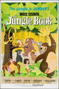 """Movie Posters:Animation, The Jungle Book (Buena Vista, 1967). Folded, Very Fine. One Sheet (27"""" X 41""""). Animation.. ..."""