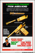 "Movie Posters:James Bond, The Man with the Golden Gun (United Artists, 1974). Folded, Fine/Very Fine. One Sheet (27"" X 41""). Robert McGinnis Artwork. ..."