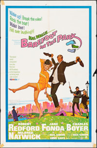 """Barefoot in the Park & Other Lot (Paramount, 1967). Folded, Fine/Very Fine. One Sheets (10) (27"""" X 41"""", 27..."""