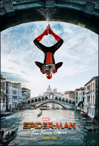"""Spider-Man: Far from Home (Sony, 2019). Rolled, Very Fine+. International One Sheet (27"""" X 40"""") DS Advance, It..."""