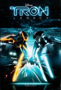 """Movie Posters:Action, Tron: Legacy (Walt Disney Pictures, 2010). Rolled, Very Fine. One Sheet (27"""" X 40"""") DS Advance, 3-D Style. Action.. ..."""