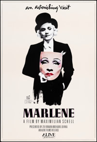 """Marlene & Other Lot (Alive Films, 1986). Rolled, Very Fine-. Autographed One Sheet (27.25"""" X 40"""") & On..."""