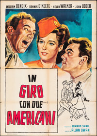 Abroad with Two Yanks & Other Lot (United Artists, 1944). Folded, Overall: Fine/Very Fine. First Post-War Release It...