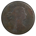 Large Cents, 1799 1C S-189, B-3, R.2, Fair 2 PCGS. PCGS Population: (3/23 and 0/0+). NGC Census: (1/14 and 0/0+). ...