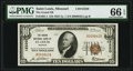 Saint Louis, MO - $10 1929 Ty. 1 The Grand National Bank Ch. # 12220 PMG Gem Uncirculated 66 EPQ